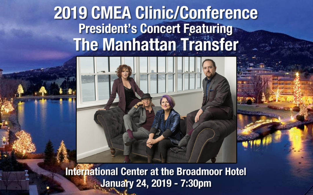 2019 CMEA Clinic/Conference President's Concert