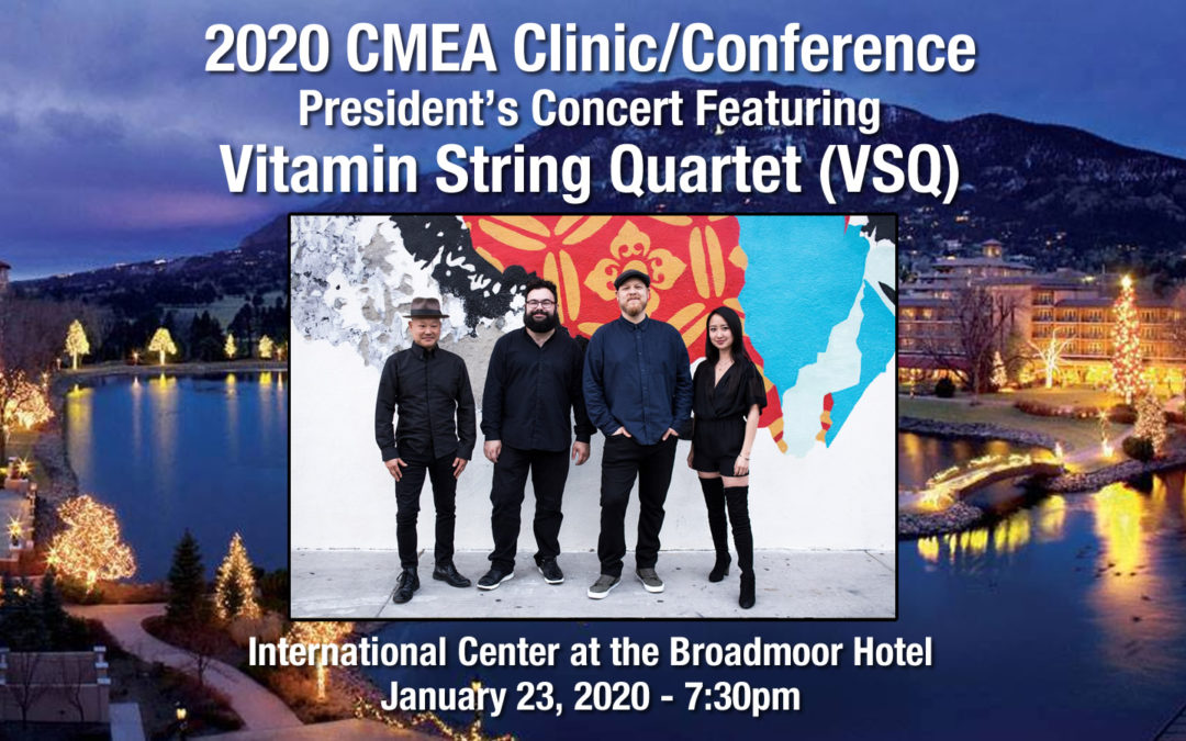 2020 CMEA Clinic/Conference President's Concert